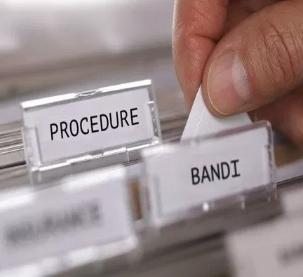 procedure bandi